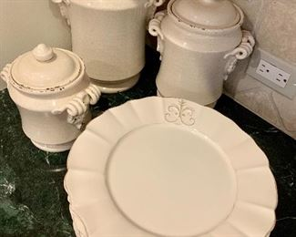 Kitchen items.  Made in Italy.