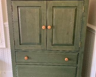 Ethan Allen painted maple chest