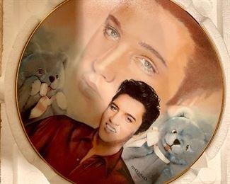 Elvis Presley Commemorative Plate