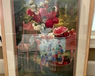 Decorative framed art