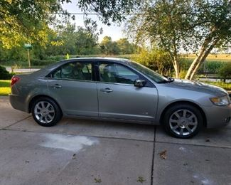 Stunning 2008 Lincoln. MKZ LEATHER, MOONROOF, LOADED!  34,000 MILES. YOU WONT FIND ONE ANY NICER. CALL RICK FOR DETAILS.
