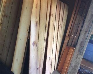 Nice wood planks.