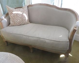 Classic French Seraphine Canape Style Settee Soft Surroundings