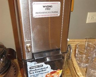 Warning Pro Stainless Steel Ice Crusher