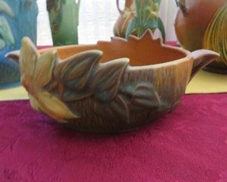 Roseville Clematis Bowl Brown