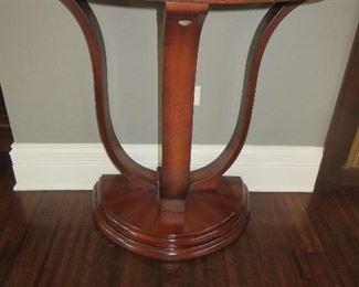 Art Deco Demilune Console Table (pair)