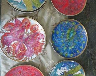 Art Deco set of Plates Pottery Barn