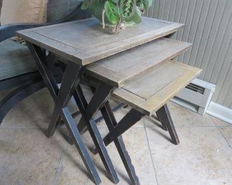 3 Pcs. Cross Legged Nesting Tables