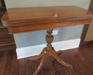Vintage Flip Top Table
