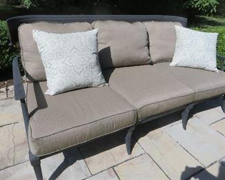 Klismos Lux Sofa Restoration Hardware