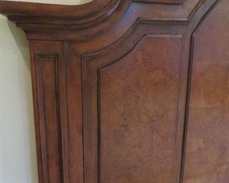 Arched Headboard California King Bed