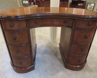 Demilune Mahogany Desk