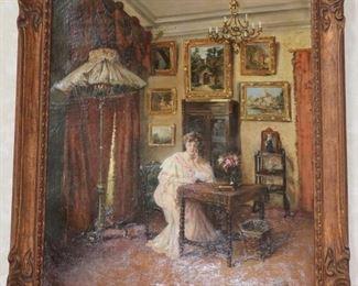 William de Lancey-Ward oil painting