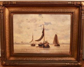Oil painting by  Van Heemsckerck Van Beest