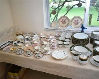 NORITAKE CHINA, TEACUPS, CHINA