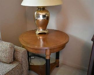 ACCENT TABLE, LAMP