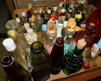Antique Bottle / Decanters Collection