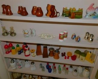 Salt & Pepper as well as Pin Cushion Collection