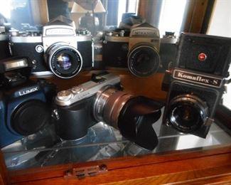 Various Vintage Cameras