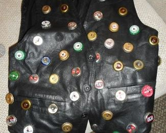 Your Friends will be Jealous.!! Beer Cap Vest