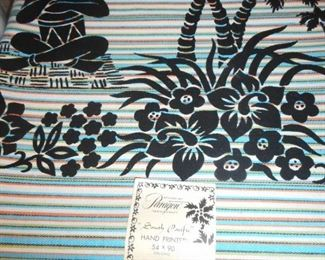 Mid Century Paragon South Pacific Printed 54x90
