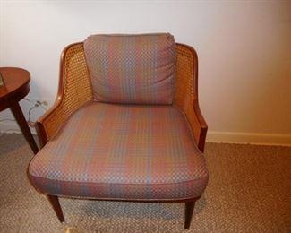 Mid Century Cane Back ,Slat Seat.