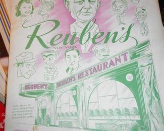 Famous Reubens Deli Menu