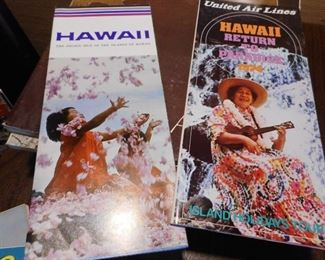 Vintage Travel Pamphlets