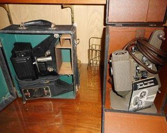 Vintage Film Projectors