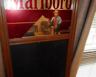 Advertising Marlboro Mirror/Chalk Board