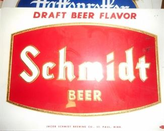 Schmidt Beer..All Sizes and Shape