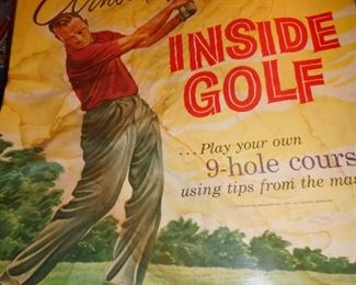 Arnold Palmer Inside Gold in the Living Room!