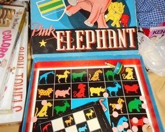 Pink Elephant Game 1941