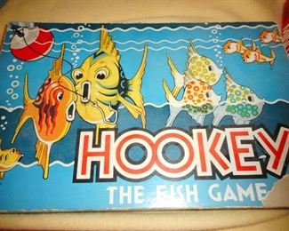 Vintage Hookey the Fish Game