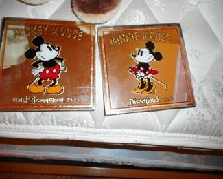 Mirror Mickey 1990 Minnie 1989