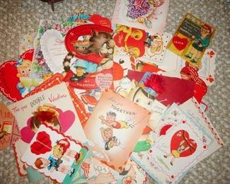 Vintage Valentines Vintage Cards