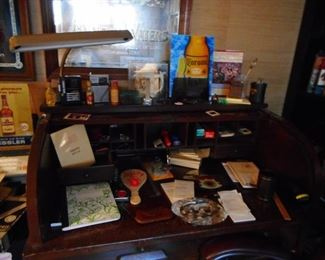 OFFICE!! Advertising  Mirrors , Desk Items, Mid Century Desk Lamp,