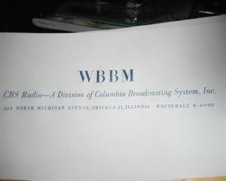 WBBM CBS Letterhead Stationary