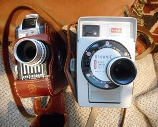 Cine Kodak Movie Camera