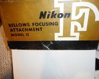 Nikon Bellows Focusing Attachment and Box