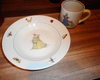 Arabia Finland Child Plate Cup