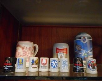 Vintage Mini Shot Steins Germany