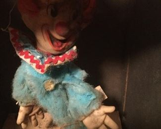 Here is Bozo..A lttile Creepy..needs a bath