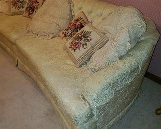 formal off white sofa