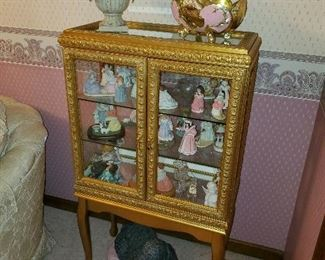 Gold Display Cabinet