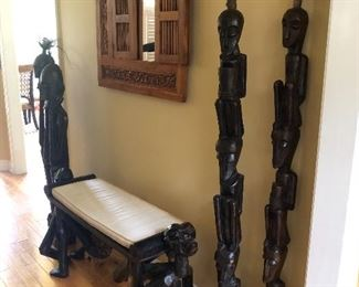 Hand Carved Pieces from Papau New Guinea