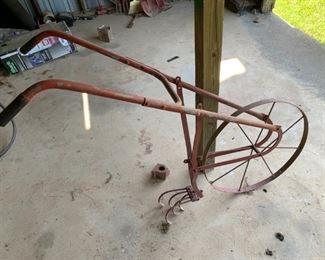 Vintage Metal Plow