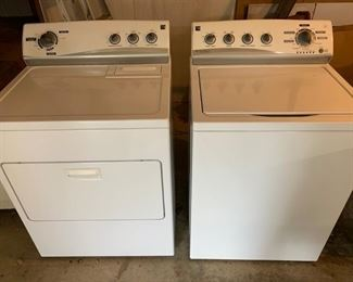 Kenmore HE Washer & Dryer