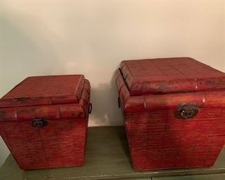 Matching Baskets with storage