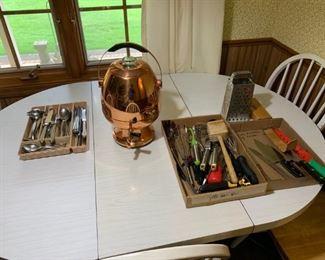 Vintage Brass Coffee maker